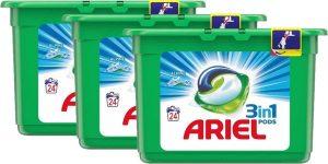 Pack Ariel 3 en 1 PODS barato