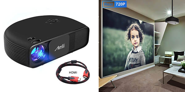 Artlii proyector HD Ready chollo