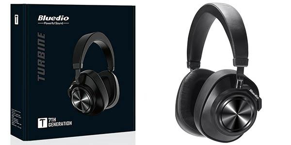 Auriculares Bluetooth Bluedio T7 con cancelación de ruido activa