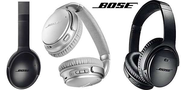 Chollo Auriculares Bose QuietComfort 35 II inalámbricos Bluetooth con cancelación de ruido
