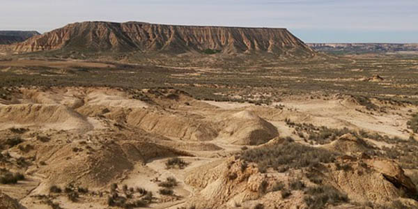 Badlands España escapada barata
