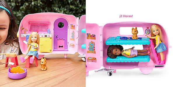 Barbie Chelsea caravana chollo