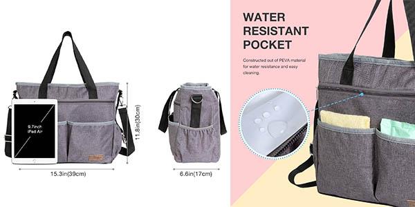 bolso para pañales para el carrito de bebé Lifewit con cupón descuento en Amazon