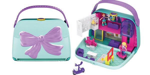 Polly Pocket Cofre Bolso Shopping (Mattel GCJ86) barato en Amazon