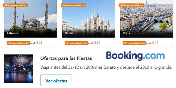 Booking promoción hoteles y apartamentos baratos