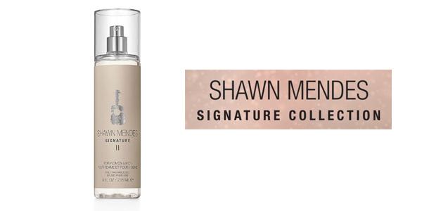 Bruma perfumada unisex Shawn Mendes Signature II Fine Fragrance Mist de 236 ml barata en Amazon