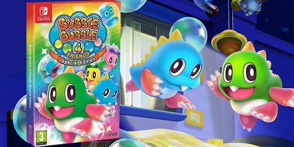 Bubble Bobble 4 Friends - Special Edition para Nintendo Switch