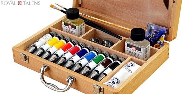 Caja Basic óleo Talens Van Gogh chollo en Amazon