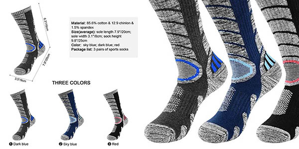 calcetines térmicos Vbiger chollo