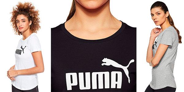 Camiseta Puma Essentials para mujer barata