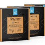 Cápsulas café con leche Amazon Happy Belly Dolce Gusto al mejor precio en Amazon