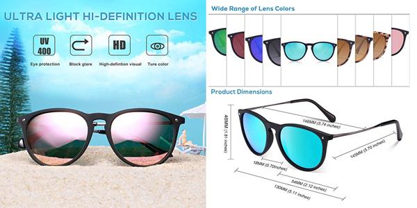 Gafas de sol Carfia en oferta en Amazon