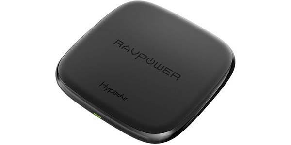 Cargador inalámbrico RAVPower de 7.5W con tecnología Qi