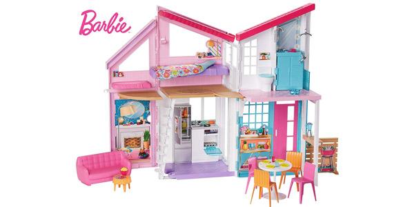 Casa de muñecas Barbie Casa Malibú barata en Amazon