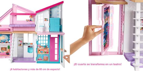 Casa de muñecas Barbie Casa Malibú chollo en Amazon