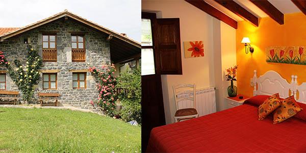 Casa Carielda alojamiento rural pueblos con encanto en los Picos de Europa barato