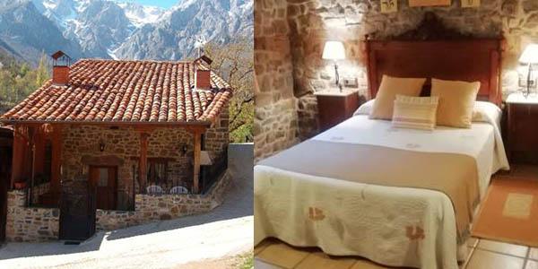 Casa rural tía Josefa en los Picos de Europa barata