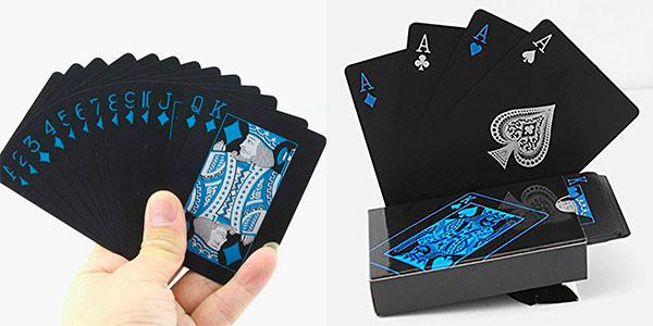 Ganga Baraja de cartas de póquer de PVC