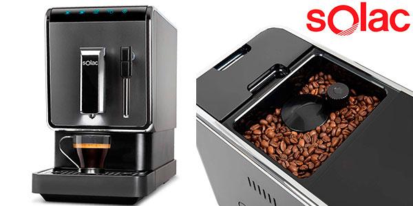 Chollo Cafetera ultra automática Solac CA4810 de 1.470 W con selector táctil