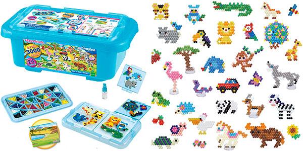 Chollo Caja de Diversión Safari de Aquabeads con 3.000 cuentas de colores