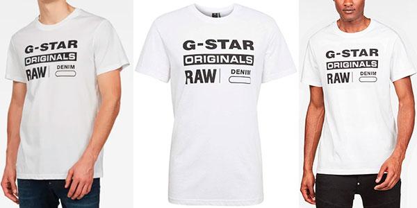 G-STAR RAW Graphic 25 Camiseta para Hombre