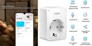 Chollo Mini Enchufe Inteligente TP-Link Tapo P100 Wi-Fi