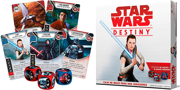 Star Wars Destiny: Caja de inicio para 2 jugadores en oferta