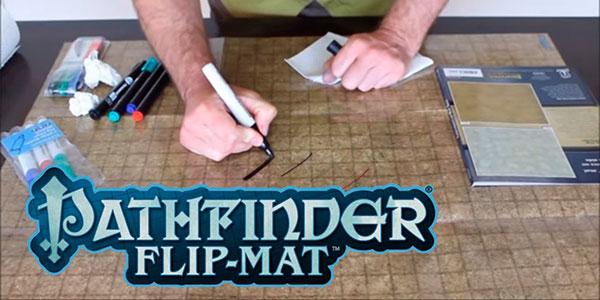Mapa plegable para juegos de rol Pathfinder Flip-Mat: Bigger Basic barato
