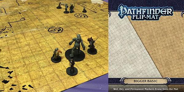 Chollo Mapa plegable para juegos de rol Pathfinder Flip-Mat: Bigger Basic