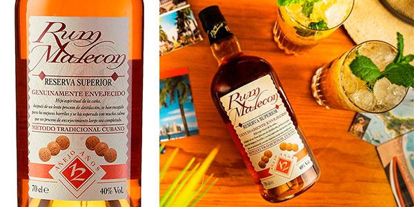 Chollo Ron Malecón Reserva Superior 12 Años de 700 ml