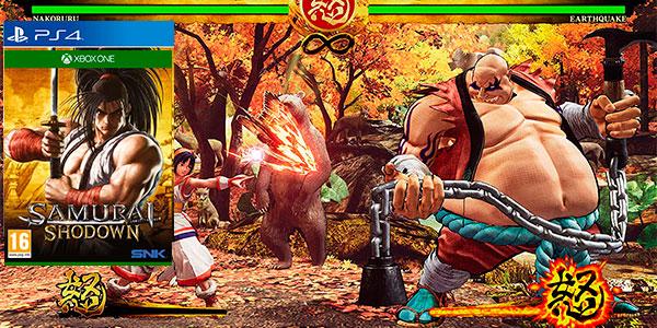 Chollo Samurai Shodown para PS4 y Xbox One