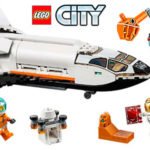 Chollo Set Lanzadera Científica a Marte de LEGO City con 2 minifiguras