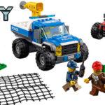 Set Caza en la Carretera de LEGO City Police con 3 minifiguras en oferta