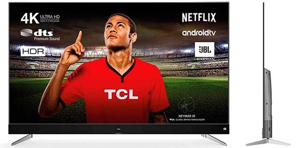 "Chollo Smart TV TCL U55C7006 4K UHD de 55"" con Android TV"