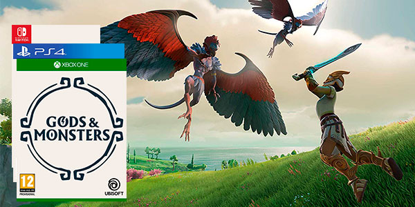 Gods & Monsters para Switch, Xbox One y PS4 al mejor precio