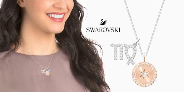 Colgante Swarovski Zodiac Virgo para mujer chollo en Amazon