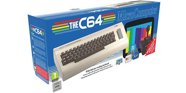 Commodore C64 Maxi con 64 juegos preinstalados