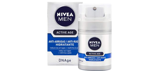Hidratante Anti-arrugas NIVEA MEN Active Age DNAge de 50 ml barata en Amazon