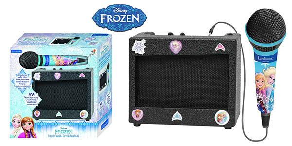 Disney Frozen altavoz con karaoke barato