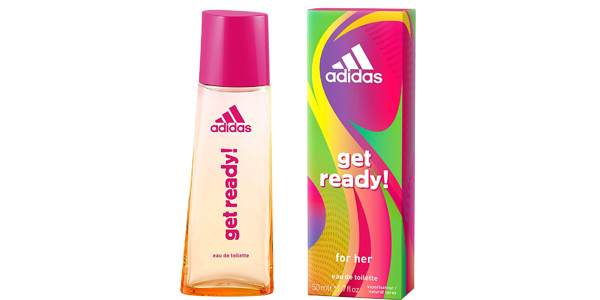 Eau de Toilette Adidas Get Ready de 50 ml para mujer barata en Amazon