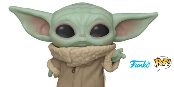 Figura Funko Pop The Child Bebé Yoda The Mandalorian de 9,5 cm chollo