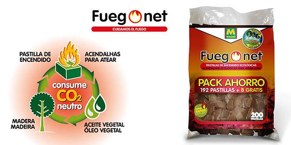 Fuegonet pastillas de encendido ecológicas baratas