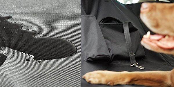 funda resistente para asientos de coche para mascotas AmazonBasics barata