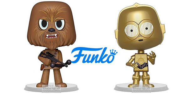 Pack Funko Star Wars Chewbacca y C3PO