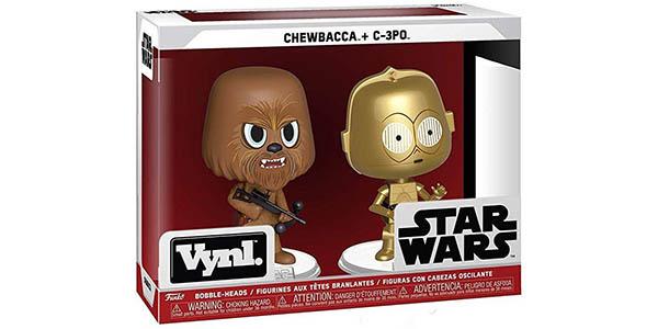 Pack Funko Star Wars Chewbacca y C3PO barato