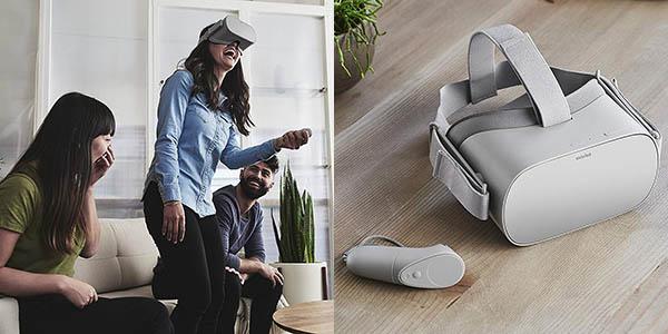 Visor de Realidad Virtual Oculus Go en Amazon