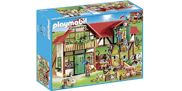 Granja Playmobil Country (6120) barata en Amazon