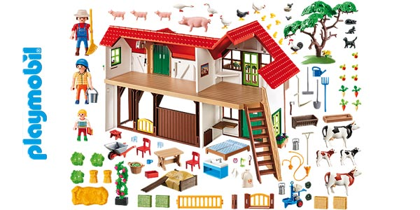 Granja Playmobil Country (6120) chollo en Amazon