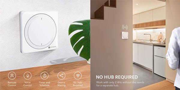 Interruptor inteligente Teckin en oferta en Amazon