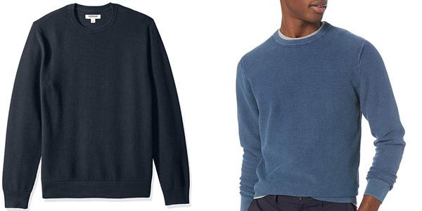 Jersey de algodón Suave y punto térmico Goodthreads de Amazon para hombre chollo